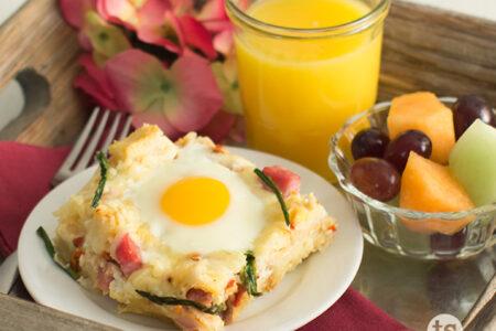 Mother's Day Breakfast Casserole