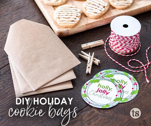 DIY Holiday Cookie Bags