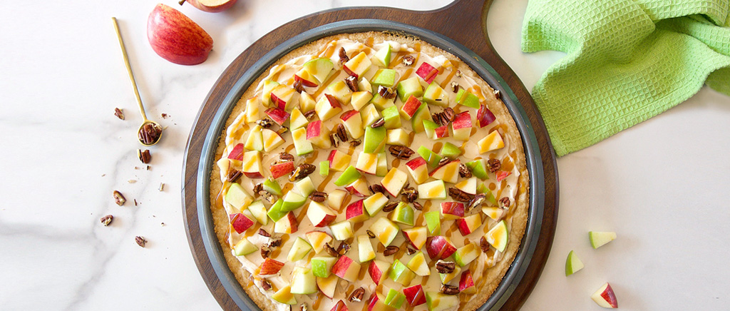 Ah, Sugar Sugar: Caramel Apple Fruit Pizza