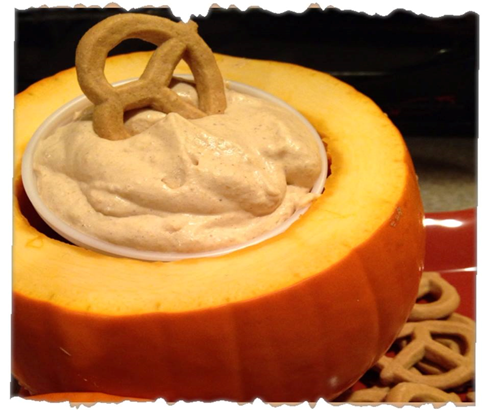 cha pumpkin dip