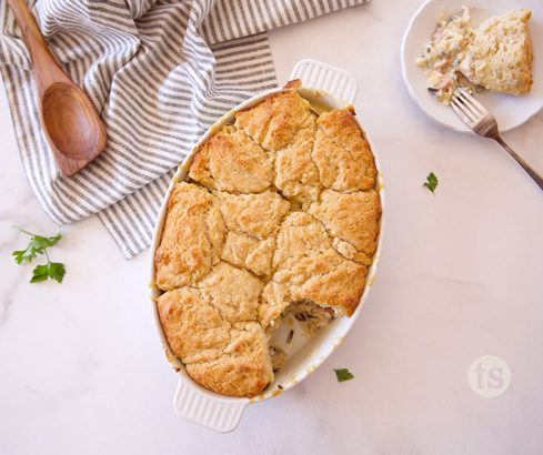 bountiful chicken cordon bleu bake